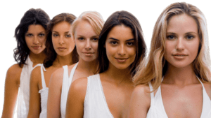 femmes souriantes bonne santé