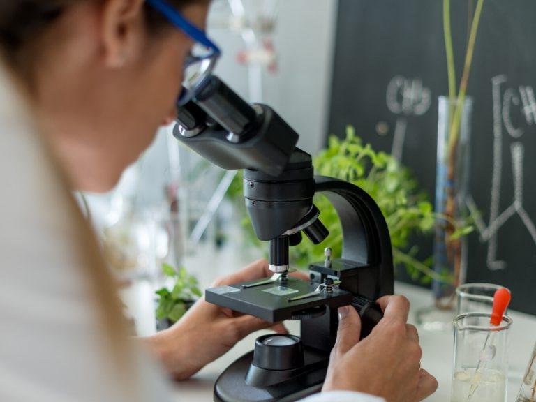 recherche scientifique microscope traitement naturel mycose vaginale